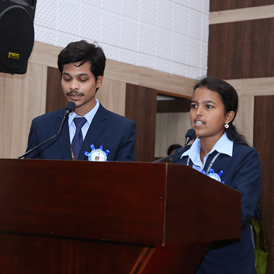 RCEE Students organizing event