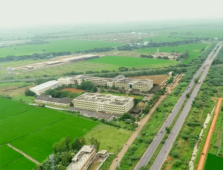 RCEE campus arieal view